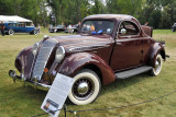 1937 Hupmobile 618G Custom Series Coupe, owned by Gregory Drufke