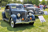 1936 Ford V8 Model 68 DeLuxe Three-Window Coupe, owned by Norm Abston