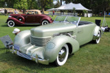 1936 Cord 810 S/C Phaeton, designed by Gordon Buehrig, owned by Richard J. Simpson