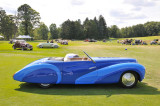 Cathy and Jerry Gauche's 1948 Delahaye 135MS Cabriolet by Faget-Varnet won Best in Class at Pebble Beach in 2008