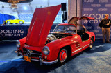 1955 Mercedes-Benz 300 SL Gullwing (WB, BR), estimated value $550,000-$650,000, reserve not met, unsold