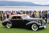 1940 Packard 1807 Darrin Convertible Sedan (C-2: 2nd), Hilda and Steve Chapman, Waxahachie, Tex.