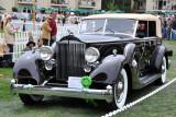 1934 Packard 1108 Dietrich Convertible Sedan (C-2: 1st), Paul E. Andrews, Fort Worth, Tex.