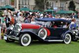 1929 Duesenberg J129 LeBaron Dual Cowl Sport Phaeton (G: 2nd), John D. Groendyke, Enid, Okla.