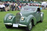 1939 Bugatti Type 57C Van Vooren Coupe (L-1: 3rd), Peter and Merle Mullin, Los Angeles, Calif.