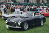 1951 Ferrari 212 Export Vignale Berlinetta (M-2: 1st and Enzo Ferrari Trophy), Peter and Kacey McCoy, Beverly Hills, Calif.