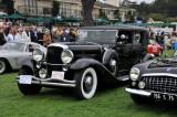 1934 Duesenberg J Rollston Town Car (L-1: 2nd and FIVA Prewar Award), William and JoEllen Snyder, Orange, Calif.