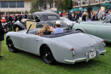 1954 Aston Martin DB2/4 Graber Drophead Coupe (O-1: 3rd), Andy and Amy Gordon, Los Angeles, Calif.