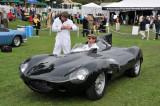 1955 Jaguar XKD  (D-Type) Race Car (N-1; Strother MacMinn Most Elegant Sports Car Trophy), Ralph Lauren, New York, N.Y.