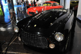 1952 Ferrari 212/225 Barchetta, believed to have inspired some features of the 1955 Thunderbird, such as the egg-crate grille