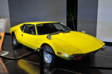 1971 De Tomaso Pantera, shot with a gun twice by Elvis Presley because it would not start; the bullet holes remain