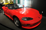 1992 Dodge Viper, serial no. 00005, from Petersen Museum Collection, gift of Chrsyler Corp.
