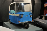 1960 Taylor-Dunn Trident ... built in Los Angeles and called a Neighborhood Electric Vehicle; from Petersen Museum Collection
