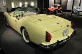 1954 Kaiser-Darrin ... powered by a 90 hp, 161 cid, 6-cylinder Willys engine; given to museum by Lloyd Randall Koenig