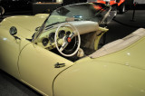 1954 Kaiser-Darrin ... with bucket seats, full intrumentaion and a top concealed by a panel when lowered