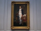(9) Jacques-Louis David, The Emperor Napoleon in His Study at the Tuileries, 1812