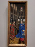 (4) Jan van Eyck, The Annuniation, c. 1434/1436