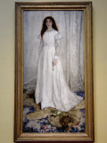 (12) James McNeill Whistler, Symphony in White, No. 1: The White Girl, 1862