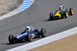 (21st) #21 Jim Smith, Woodside, CA, 1962 Cooper Formula Junior, and (22nd) #118 Jack Fitzpatrick, Rescue, CA, 1960 Lotus 18