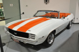 1969 Chevrolet Camaro SS, on loan from the General Motors Heritage Collection
