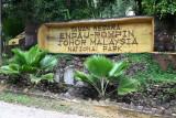 Endau Rompin entrance