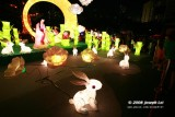 Moon festival light fixtures, 2008, Hong Kong