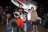 5-24-09 Calistoga Speedway: GSC 410 Sprints , Dirt Modifieds