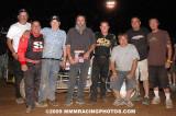 8-8-09 BCRA Midgets , Midget Lites , Wingless Sprints Placerville Speedway