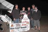 2-12-11 ASCS Sprints, IMCA Modifieds Kings Speedway