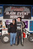 10-6-12 Petaluma Speedway: Johnny Soares Classic BCRA/USAC Midgets - BCRA Vintage