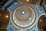 The Dome of St. Peter's Basilica (Cupola) designed by Donato Bramante
