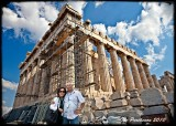 The Parthenon, built during the 5th Century, the Golden Age of Greece
