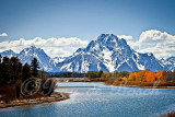 Oxbow Bend at the Grand Teton National Park