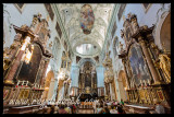 The Abbey Church of St. Peter was founded by St. Rupert, who is buried inside. Known for its sumptuous Baroque decor