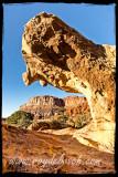 Rock eats rock! Capitol Reef NP, Utah - Scenic Drive