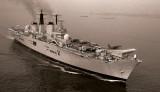 Classic B&W: HMS Ark Royal Battle Group