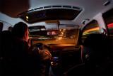 Riding Through the City Lights