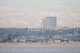 n4910 Beach and snowy peaks