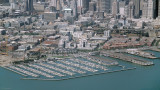 Pier 40 (South Beach) 1998, Stadium construction just began