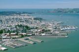 San Francisco Waterfront at the Telegraph Hill