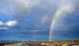 Rainbow in Mojave, CA