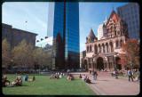 Church and Scraper, Boston, MA