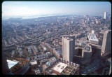 View from Prudential BLD in DT Boston