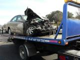 Hit by a GMC 3500 box truck