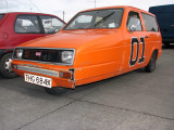 The General Lee Reliant Robin 01