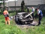 Dan and An Garda Siochana Burned car