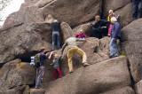 All Family Climbing