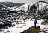 Siberian village  Bazaikha (near Krasnoyarsk)