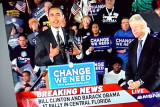 the Obama rally