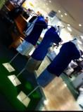 trois bleu
